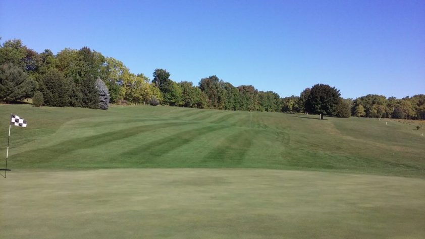 8 Green At Woodlynn Hills Golf Course